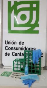 Unión de Consumidores de Cantabria-UCC exige la intervención del Estado para garantizar la producción nacional de mascarillas, TEST y EPIS